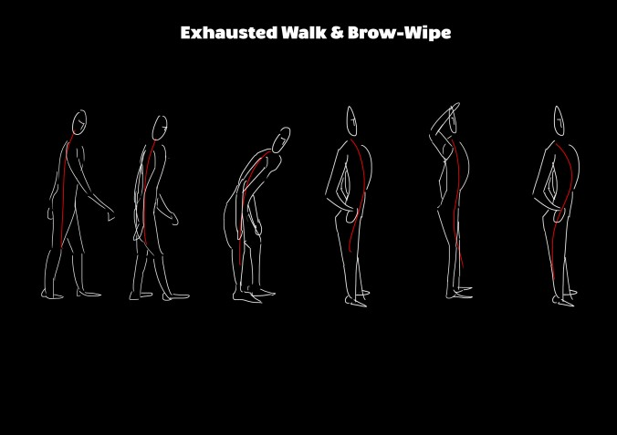 exhausted-walk-brow-wipe-storyboard