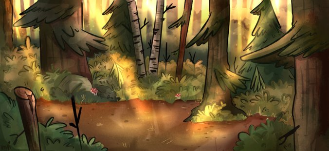 Gravity_falls_background_practice_by_missinspi-db1ueau